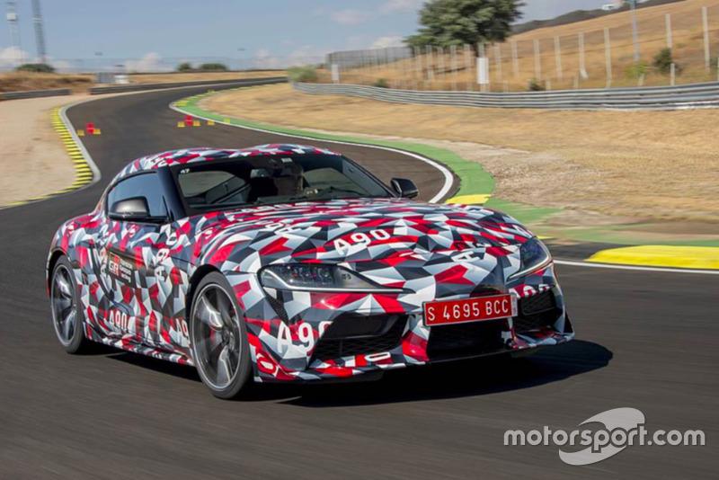 Концепт Toyota Supra 2019