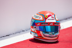 The helmet of Antonio Fuoco, PREMA Racing
