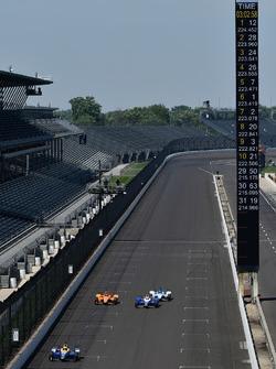 Alexander Rossi, Herta - Andretti Autosport Honda, Fernando Alonso, Andretti Autosport Honda