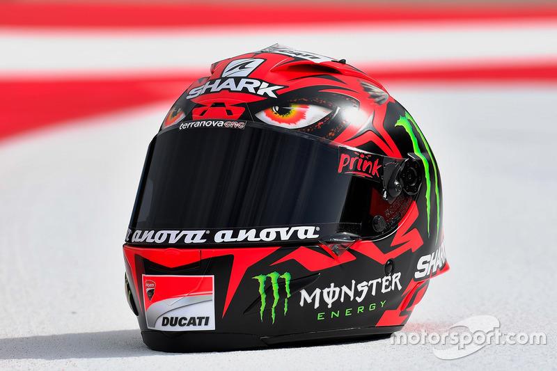 Jorge Lorenzo, Ducati Team, casco Diablo