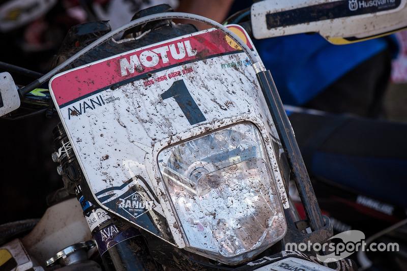Moto de Graham Jarvis