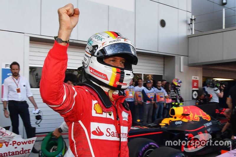 4º GP de Rusia 2017 - Pole para Sebastian Vettel