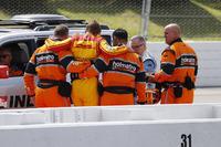 Unfall: Ryan Hunter-Reay, Andretti Autosport Honda