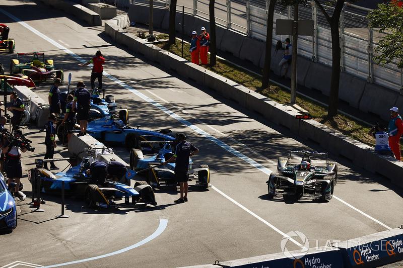 Pit stop Sébastien Buemi, Renault e.Dams