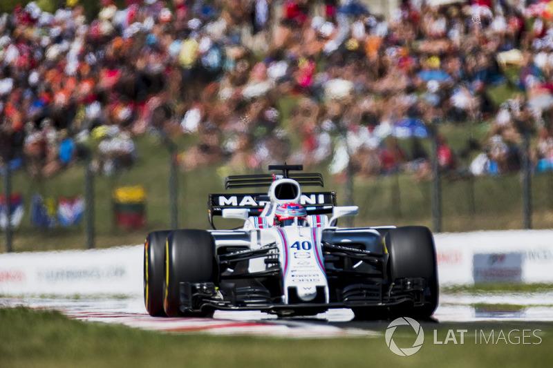 Paul di Resta, Williams FW40 (1 abandono)