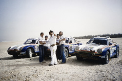 Works Porsche 959 entries