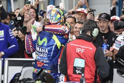 1. Valentino Rossi, Yamaha Factory Racing; 2. Danilo Petrucci, Pramac Racing