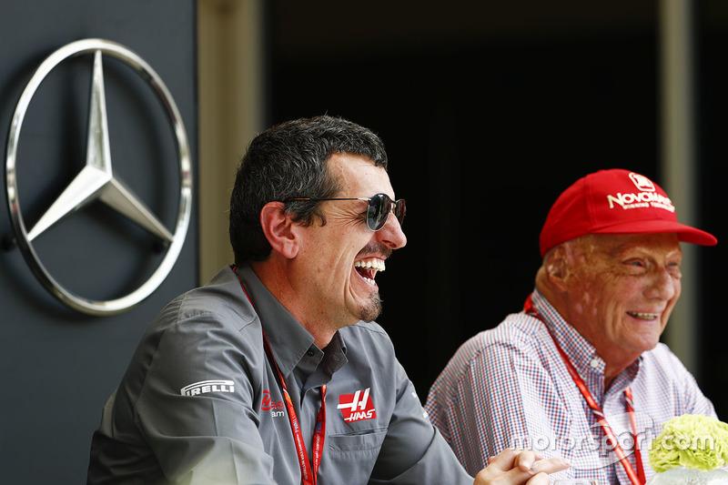 Guenther Steiner, Team Principal, Haas F1 Team, Niki Lauda
