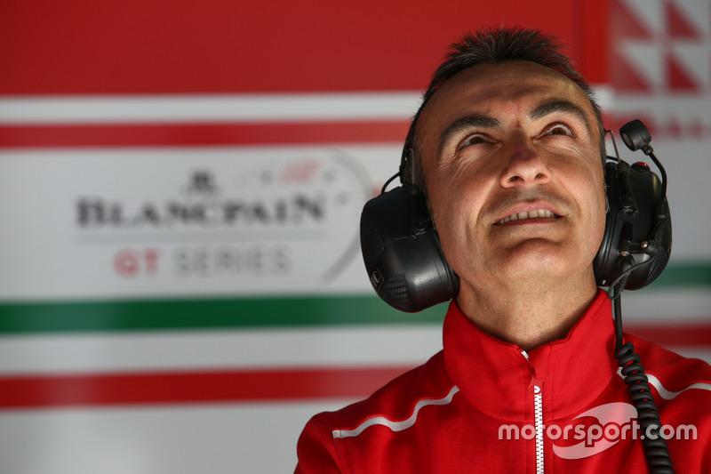 #53 Spirit Of Race, Ferrari 488 GT3: Andrea Bertolini