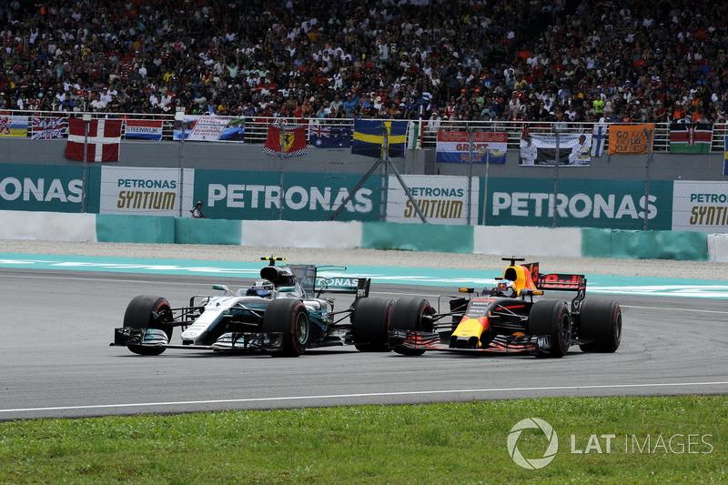 Валттері Боттас, Mercedes-Benz F1 W08, Даніель Ріккардо, Red Bull Racing RB13