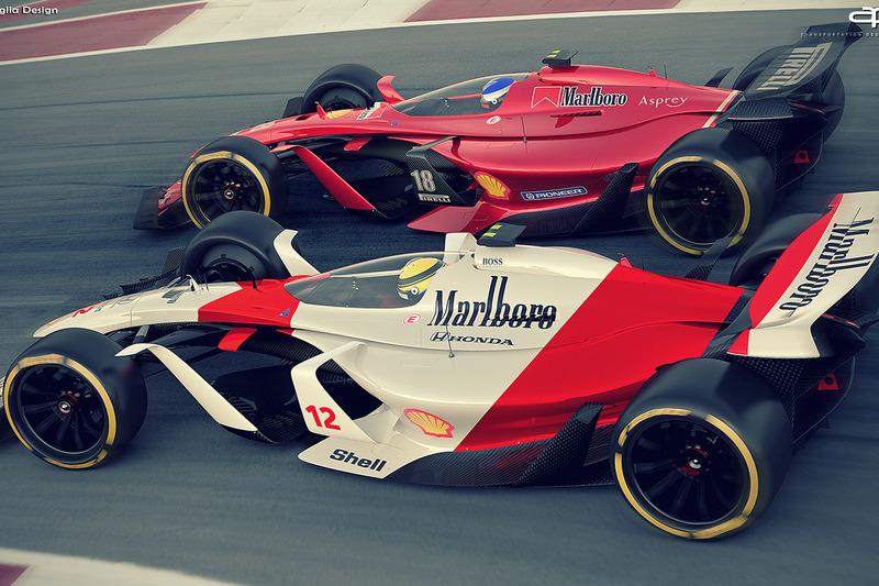 Ferrari y McLaren 2025