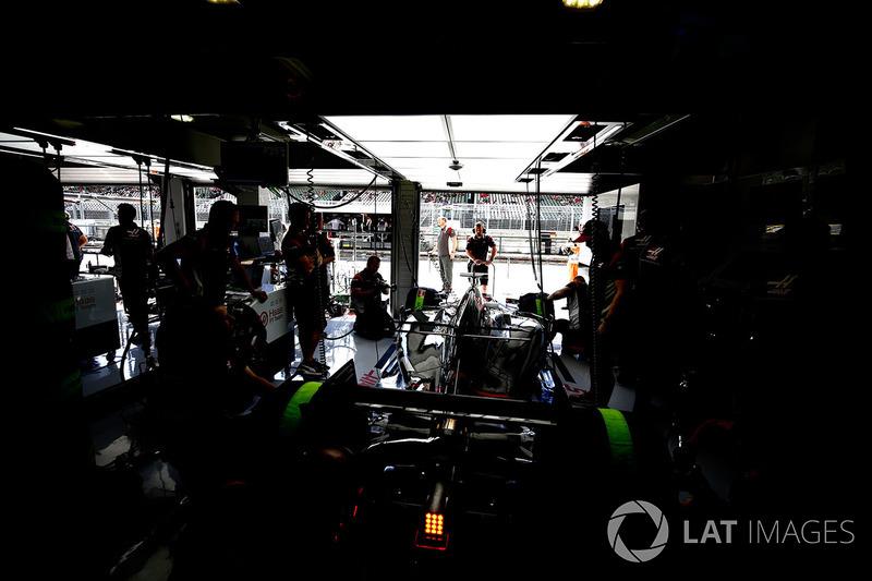 Гараж Haas F1 Team