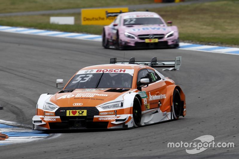 Джемі Грін виходить у лідери, Audi Sport Team Rosberg, Audi RS 5 DTM