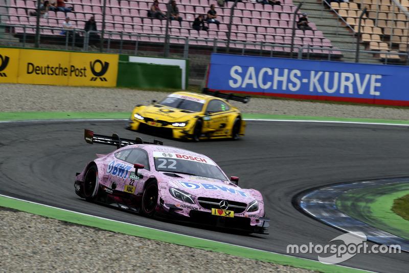 Lucas Auer, Mercedes-AMG Team HWA, Mercedes-AMG C63 DTM, Timo Glock, BMW Team RMG, BMW M4 DTM