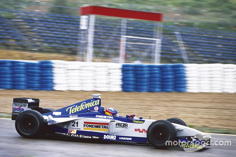 Грудень 1999 – Фернандо Алонсо, Minardi M01 Ford
