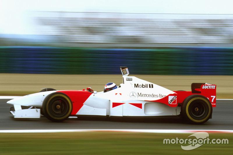 Mika Hakkinen, McLaren MP4/11 Mercedes (1996)