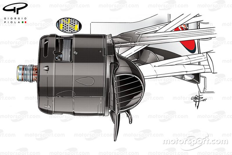 Тормозной воздуховод Ferrari SF70H