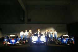 #35 Baxi DC Racing, Alpine A460 - Nissan: David Cheng, Ho-Pin Tung, Nelson Panciatici; #36 Signatech