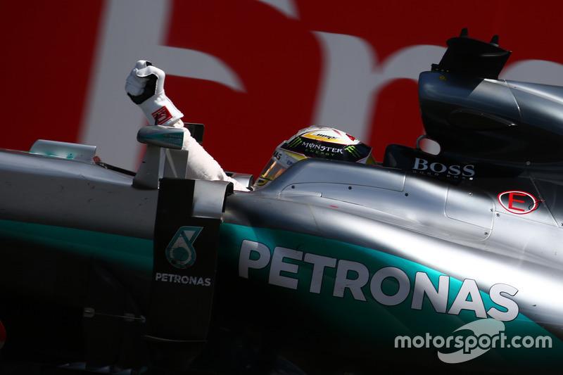 1° posto per Lewis Hamilton, Mercedes AMG F1 W07