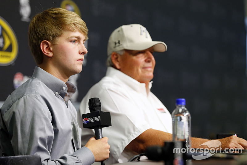 William Byron e Rick Hendrick