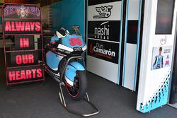 La moto di Luis Salom