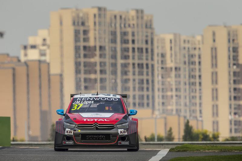 Jose María Lopez, Citroën World Touring Car Team, Citroën C-Elysée WTCC
