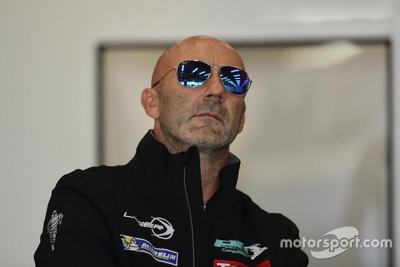 #23 Panis Barthez Competition, Ligier JS P2 Nissan: Fabien Barthez