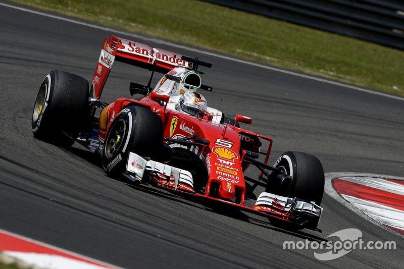 2016: Sebastian Vettel, Ferrari SF16-H