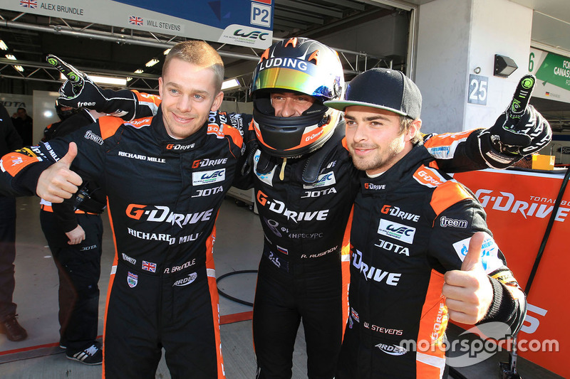 رقم 26 جي-درايف ريسينغ أوريكا 05: رومان رازينوف، أليكس براندل، رينيه راست