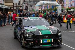 #50 Ford Mustang: Stephan Wölflick, Urs Bressan, Jürgen Gagstatter, Tobias Neuser