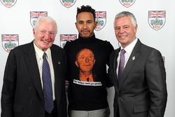 Paddy Hopkirk, Lewis Hamilton, Derek Warwick
