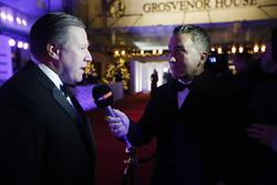 Zak Brown, directeur exécutif du McLaren Technology Group, parle à Sky TV
