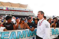 James Allison, directeur technique, Mercedes AMG F1