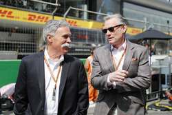 Chase Carey, Chairman, Formula One, and Sean Bratches, Managing Director of Commercial Operations, Formula One Group