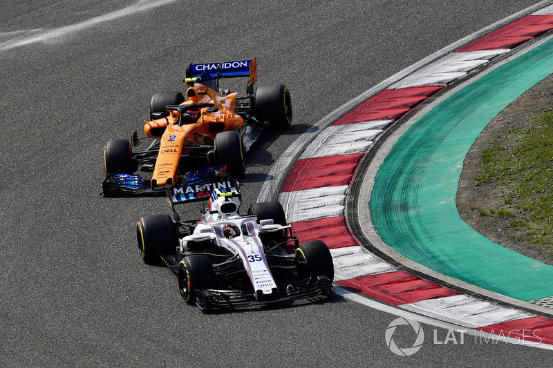 15e Sergey Sirotkin, Williams FW41