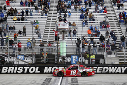 Kyle Busch, Joe Gibbs Racing takes the win