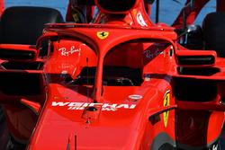 Halo del Ferrari SF71H