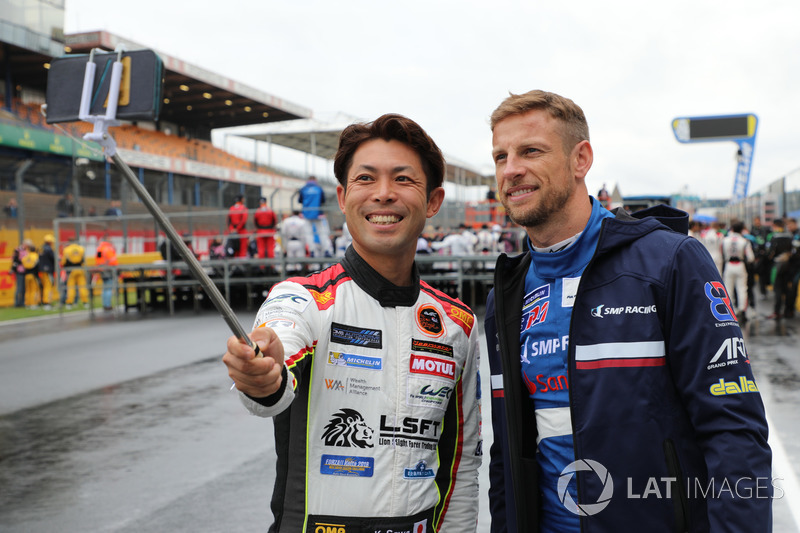 Keita Sawa, Jenson Button