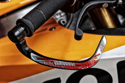 Detalle moto de Marc Marquez, Repsol Honda Team