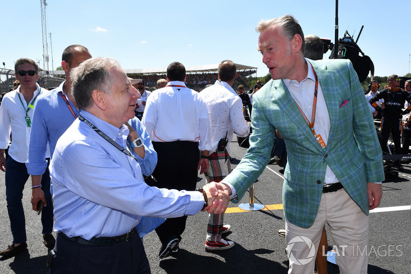 Jean Todt, FIA President, Sean Bratches, Formula One Managing Director, Commercial Operations