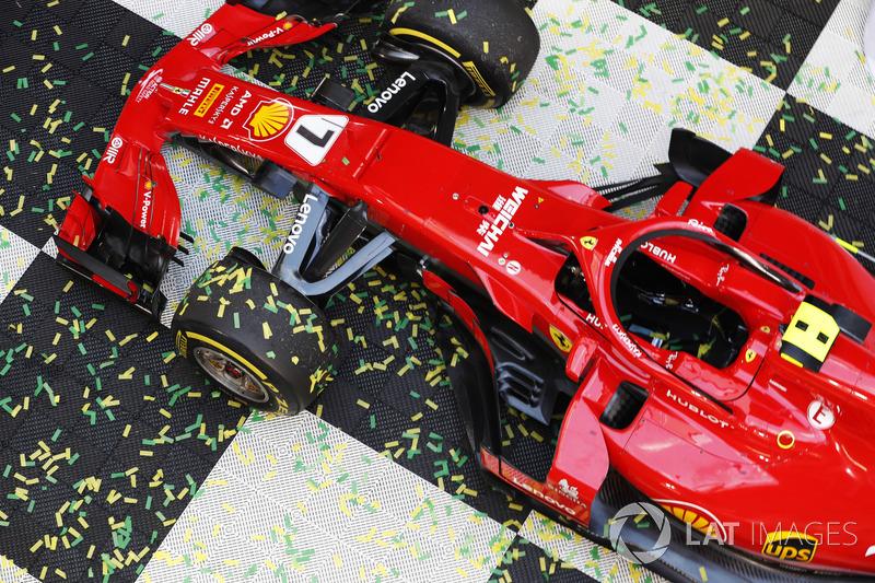Автомобиль Ferrari SF71H Кими Райкконена