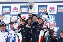 Podium: Winner Cup, #4 Grove Motorsport Pty Ltd Porsche GT3 Cup: Stephen Grove, Brenton Grove, Benjamin Barker