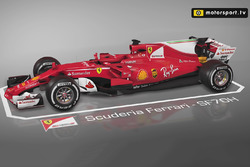 Motorsport.tv 3D animations: Ferrari updates