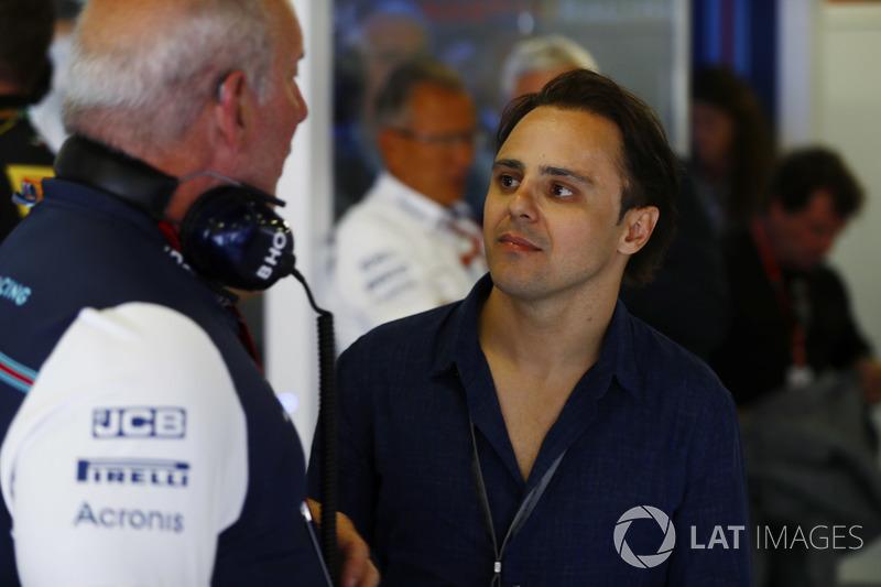 Felipe Massa foi uma das atrações, visitando o ex-time.