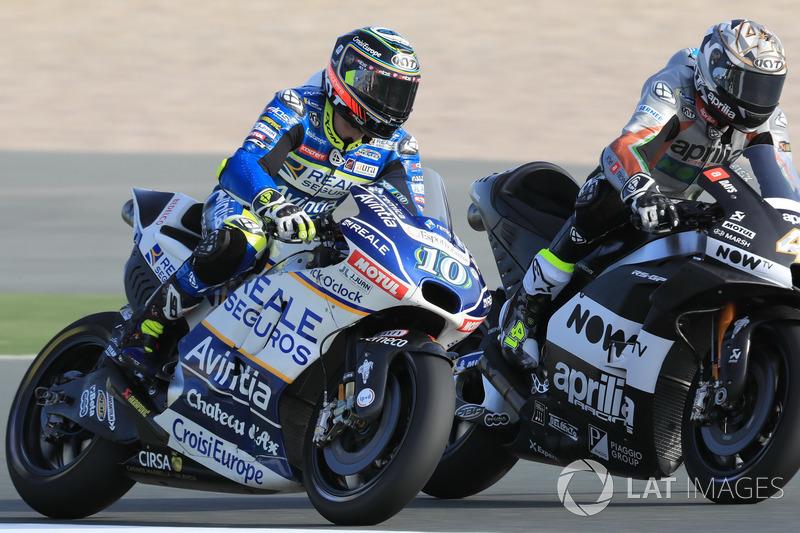 Xavier Simeon, Avintia Racing Aleix Espargaro, Aprilia Racing Team Gresini
