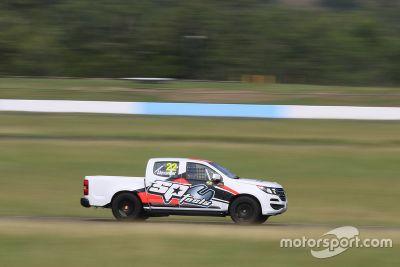 SuperUtes Queensland Raceway testing