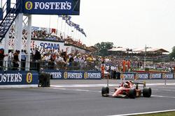 Alain Prost, Ferrari 641/2, vainqueur