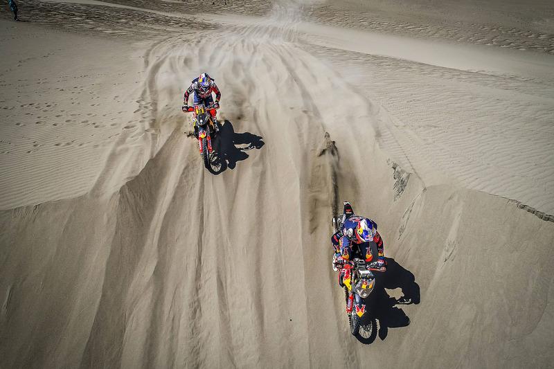 #19 Red Bull KTM Factory Racing KTM: Antoine Meo, #8 Red Bull KTM Factory Racing KTM: Toby Price