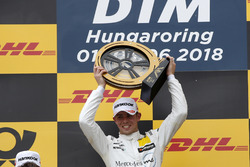 Podium: Race winner Paul Di Resta, Mercedes-AMG Team HWA