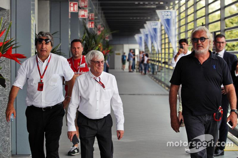 Pasquale Lattuneddu, FOM ve Bernie Ecclestone ve Flavio Briatore